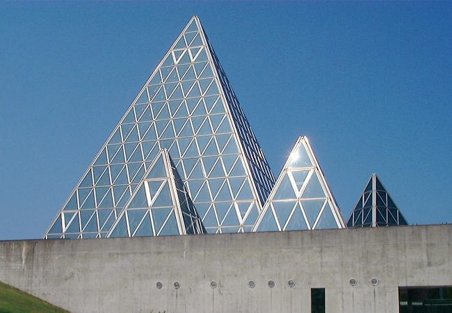 仁摩サンドミュージアムの外観