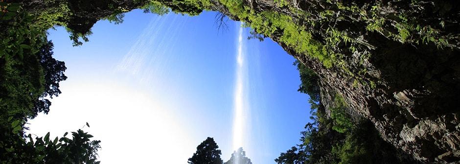 壇鏡の滝のイメージ
