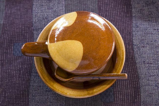 布志名焼 湯町窯のエッグベーカー