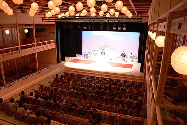 安来節演芸館 演芸ホール