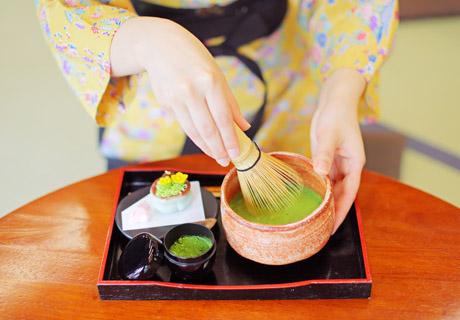 松江のお抹茶&和菓子スポット