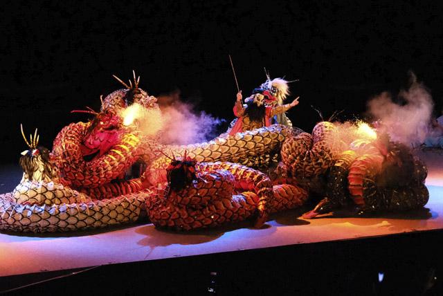 海神楽 大蛇