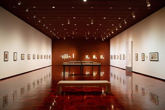 島根県立石見美術館の展示室A