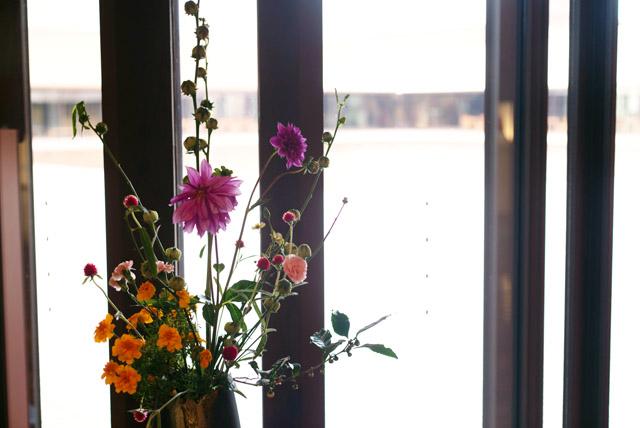 グラントワの生け花