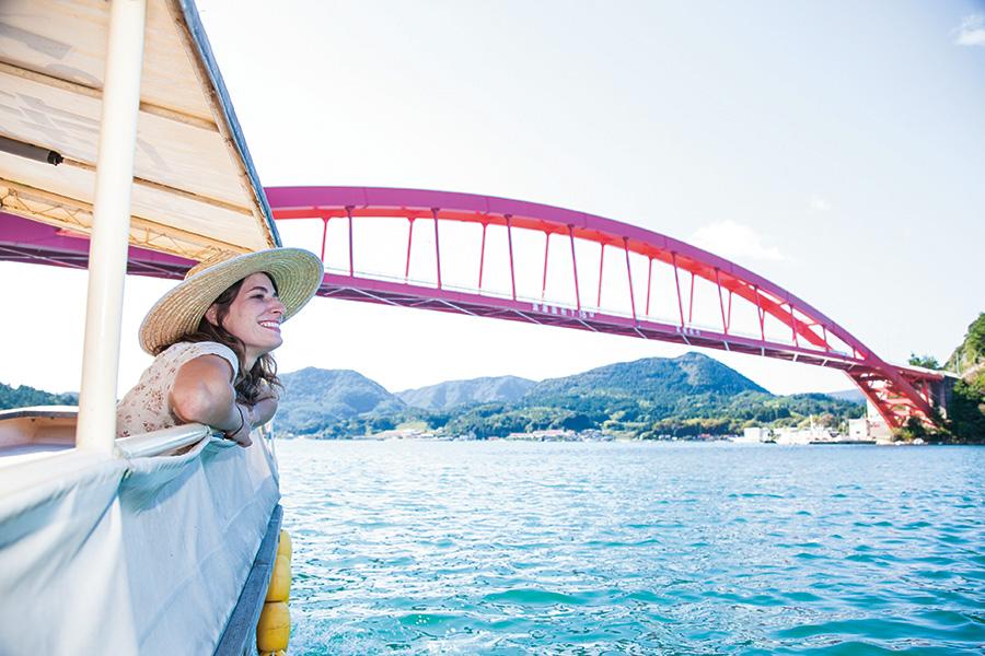 隠岐の島町 八尾川周遊 かっぱ遊覧船