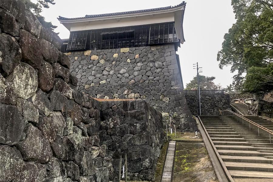 松江城 本坂