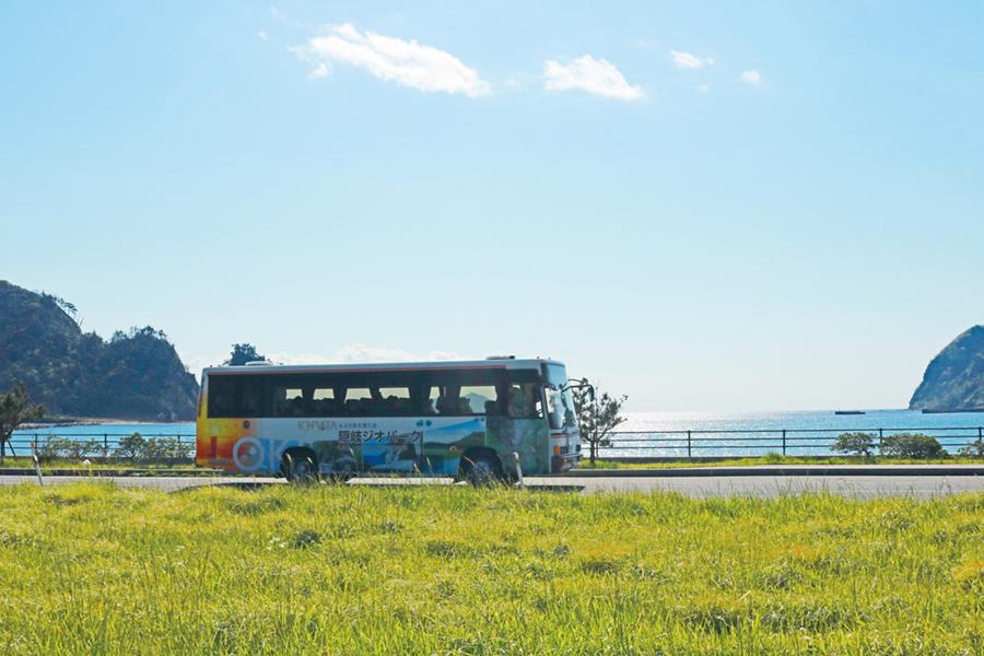 ジオバス トカゲ岩コース