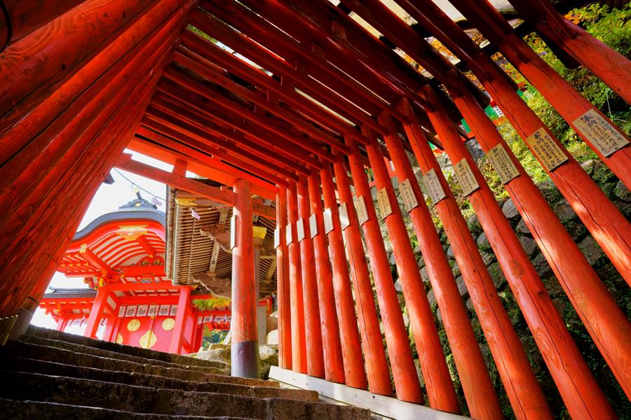 津和野町 太皷谷稲成神社