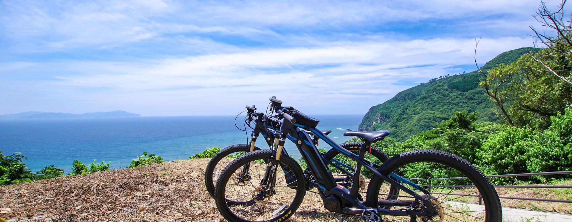 新アクティビティ「E-Bike」で気分爽快!隠岐の島の大自然を駆け巡る旅