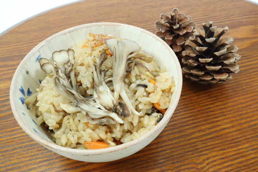 奥出雲舞茸の炊き込みご飯