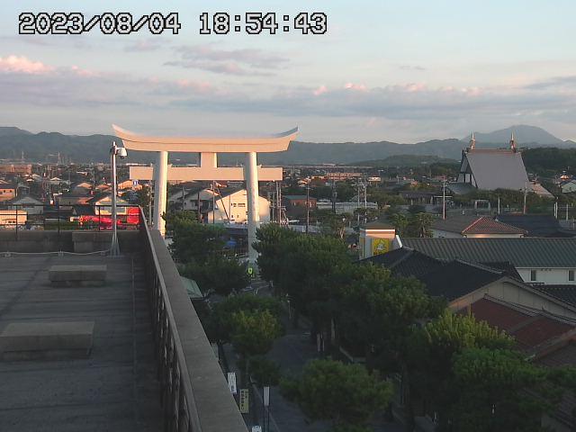 出雲大社神門通りのライブカメラ
