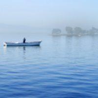 宍道湖しじみ漁