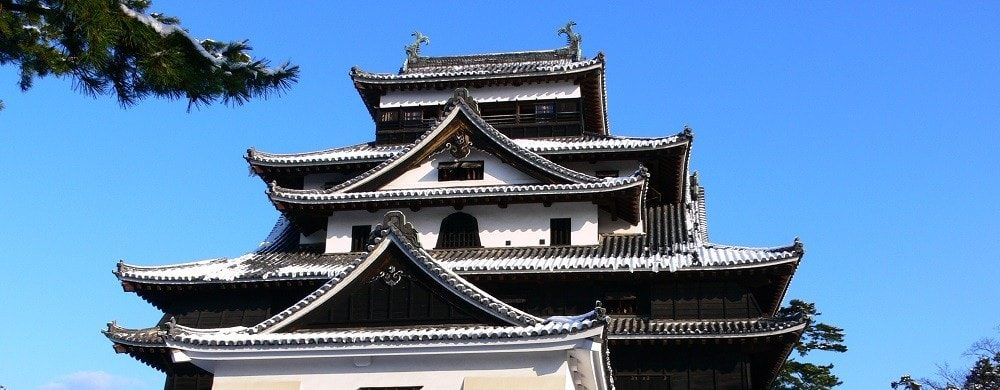 One of the only five castles designated as National Treasure, Matsue Castle