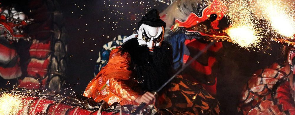 Iwami Kagura, the world of Japanese mythology
